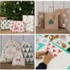 Christmas 2021 Block Printed Presents - Christmas