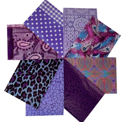 decopatch paper pieces pack- purple