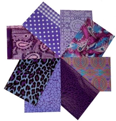 decopatch paper pieces pack- purple