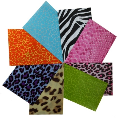 Decopatch paper pieces pack- animal print papers