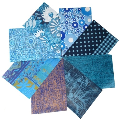 decopatch paper pieces pack- blue
