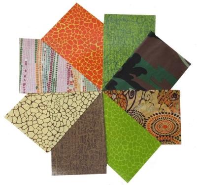decopatch paper pieces pack- green, brown & orange