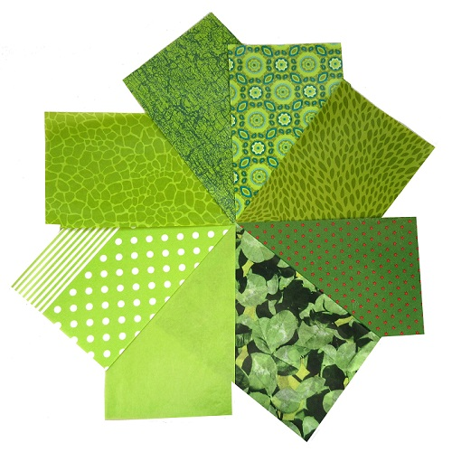 decopatch paper pieces pack- green