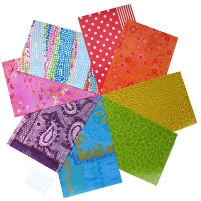 decopatch paper pieces pack- multicoloured