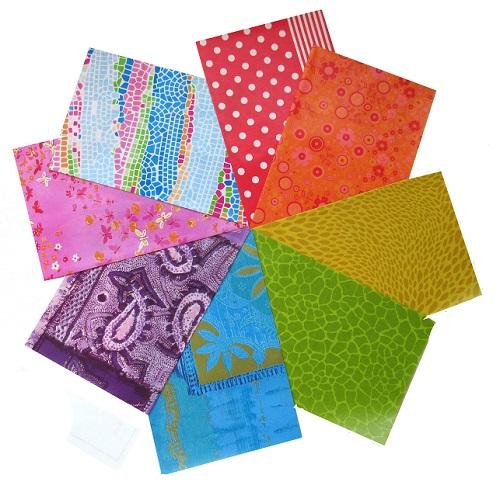 decopatch paper pieces pack- multicoloured