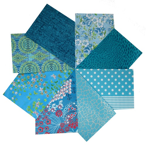 decopatch paper pieces pack- turquoise
