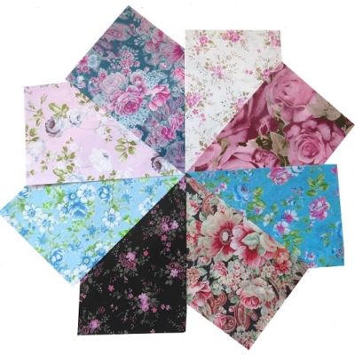 decopatch paper pieces pack- vintage florals