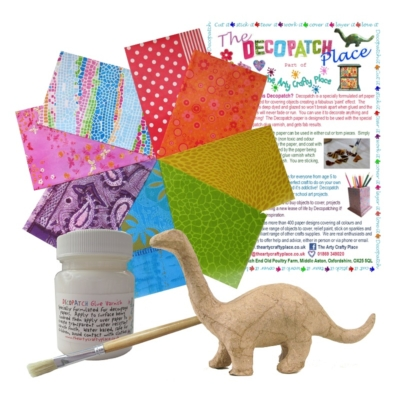 Extra Small Dinosaur Decopatch Kit