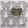 Indian Block Printed Fabric Butterfly with Shapes