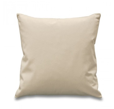Natural Canvas Cushion Cover