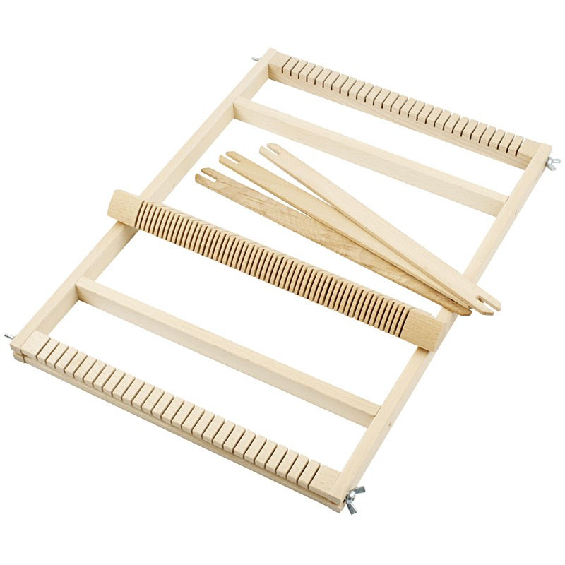 Wood Basket Weaving Supplies : Large loom arty crafty
