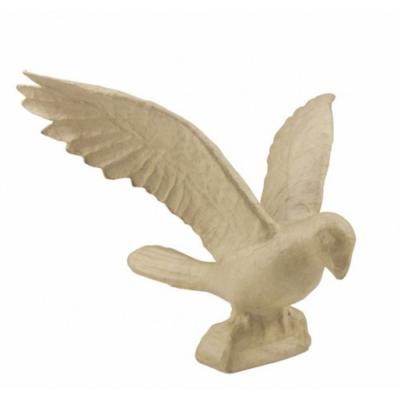 MA009 Parrot open wings decopatch