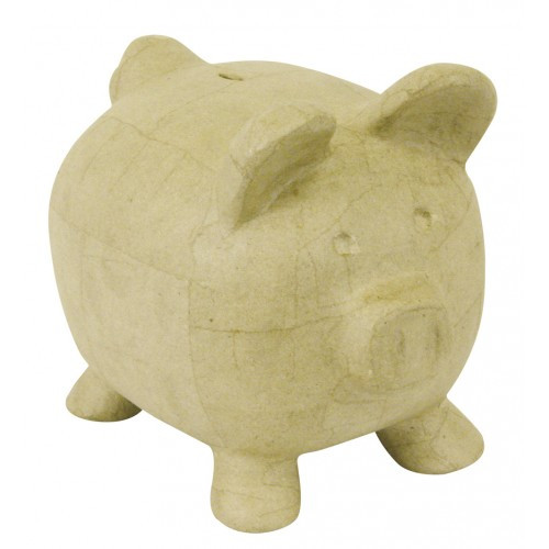 MA109 Piggy Bank Decopatch