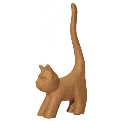SA112 Long Tail Cat Decopatch