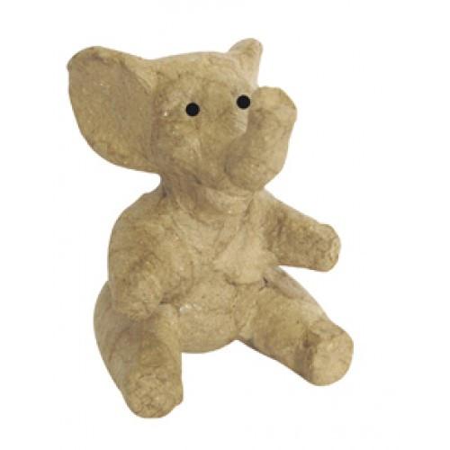 SA142 Sitting Elephant Decopatch