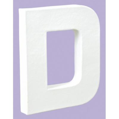 White Decopatch Letter D