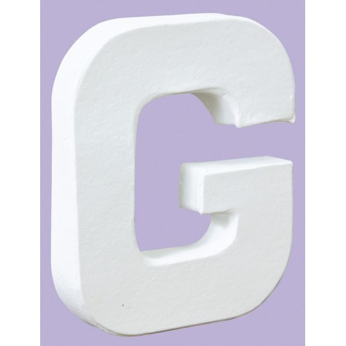 White Decopatch Letter G