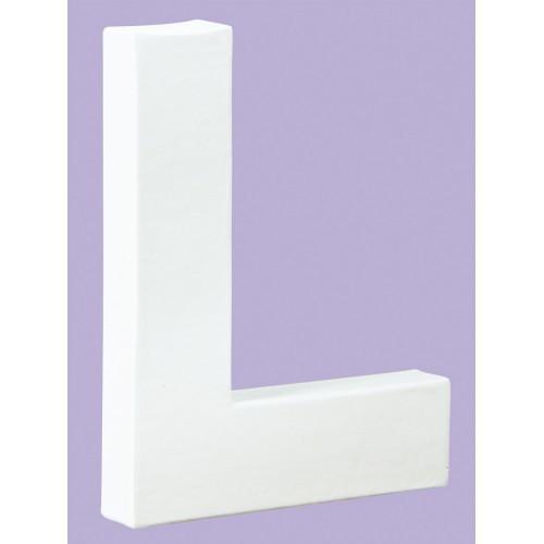White Decopatch Letter L