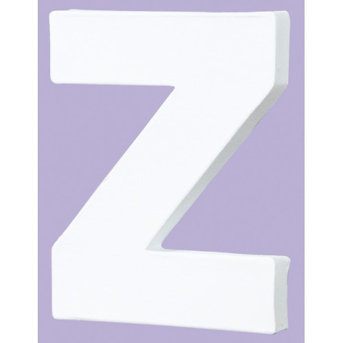 White Decopatch Letter Z