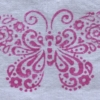 Indian Block Printed Butterfly