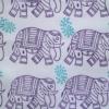 Elephant & Paisley Fabric