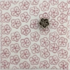 Indian Block Printed Fabric- Small Circle Flower