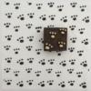 Indian Block Printed Fabric - Pawprints
