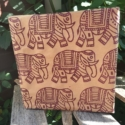 Large Walking Elephant Wrapping Paper