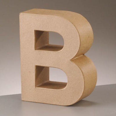 Free Standing Letter B