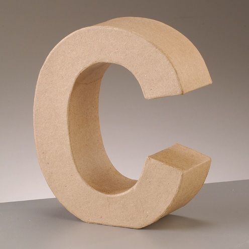 Free Standing Letter C