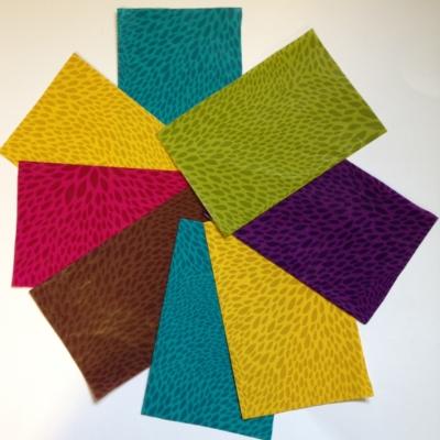 Colour Burst decopatch pieces pack