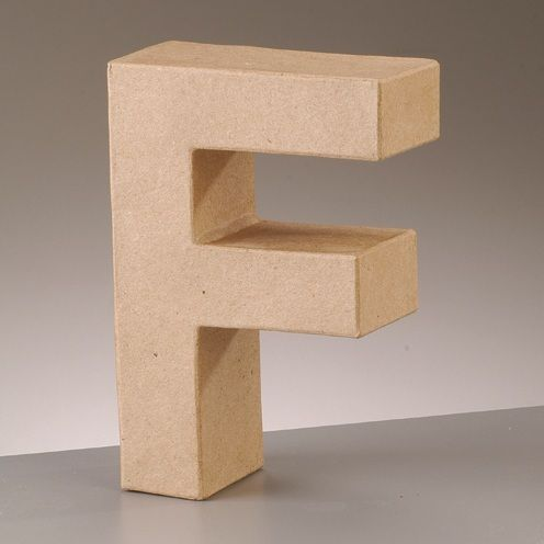 Free Standing Letter F