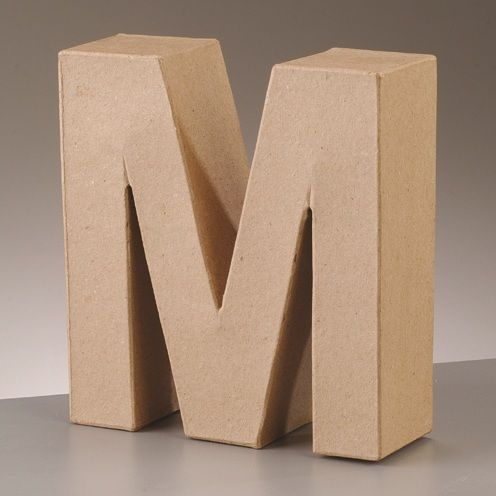 Free Standing Letter M