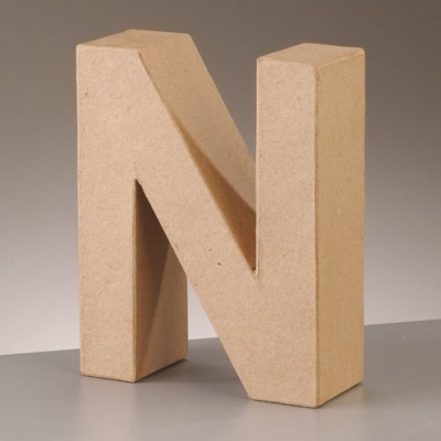 Free Standing Letter N