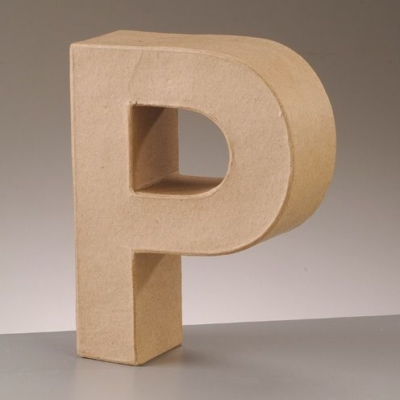 Free Standing Letter P