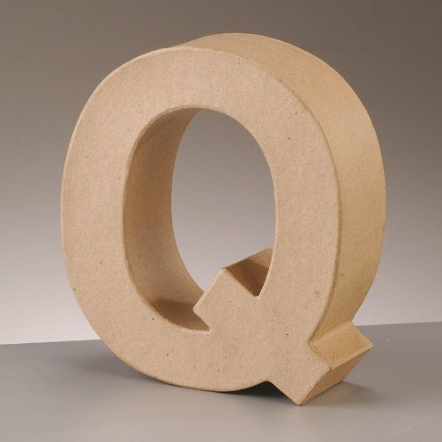 Free Standing Letter Q