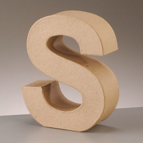 Free Standing Letter S