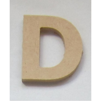 Small MDF Wooden Letters (5cm)