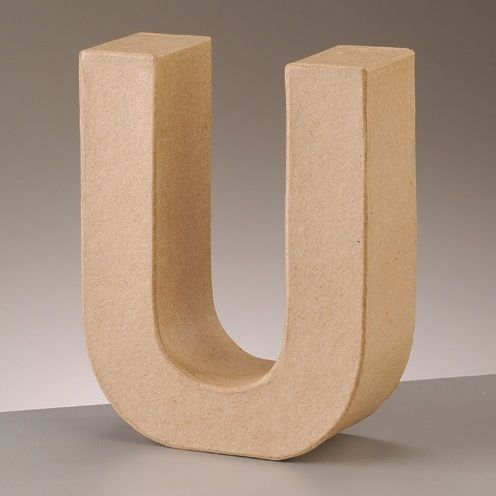 Free Standing Letter U