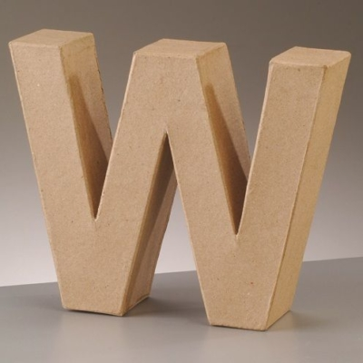 Free Standing Letter W