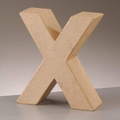 Free Standing Letter X
