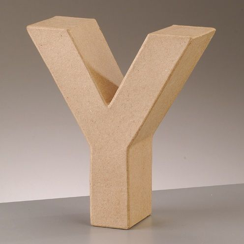 Free Standing Letter Y