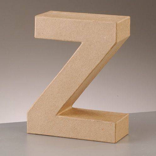 Free Standing Letter Z