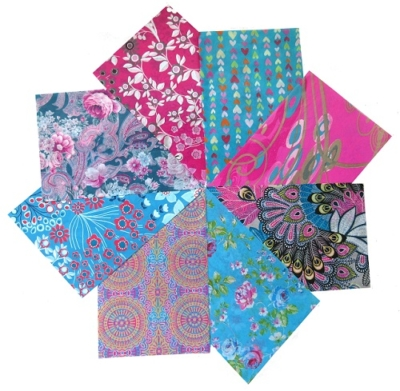 Decopatch Paper Pack- Pink, Purple & Blue