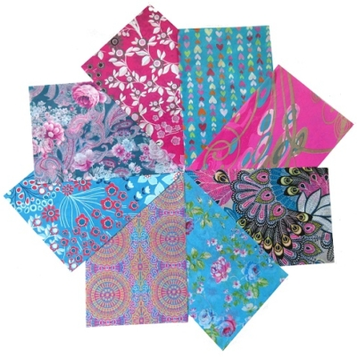 Decopatch Paper Pack- Pink, Purple & Blue