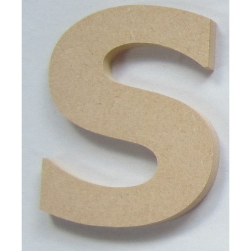 Medium MDF Wooden Letters (10cm)