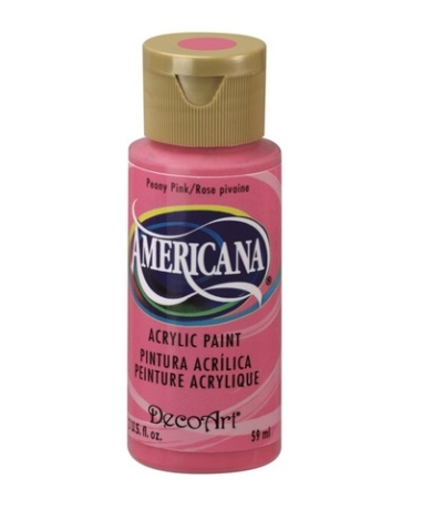 Acrylic Paint- Peony Pink