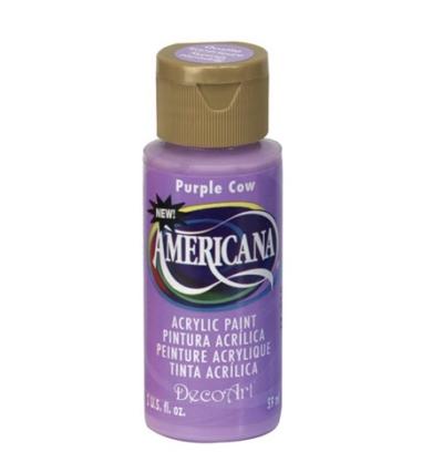 Acrylic Paint- Purple Cow