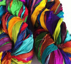 Sari Silk Ribbons & Bundles