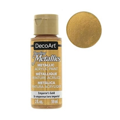 Acrylic Metallic Paint- Emperors Gold